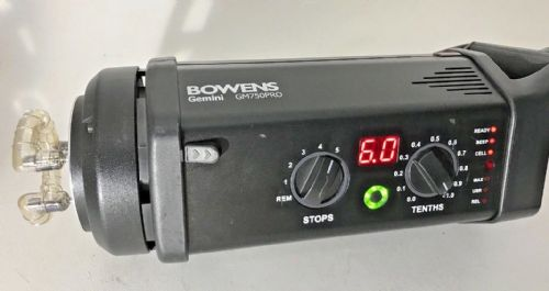 BOWENS 750 PRO GEMINI FLASH HEAD
